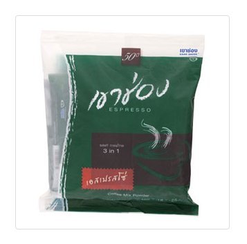 Khao Shong Coffee Mix Powder 3 in 1 Super Rich 20g x 25pcs (Extract Tray compare prices)
