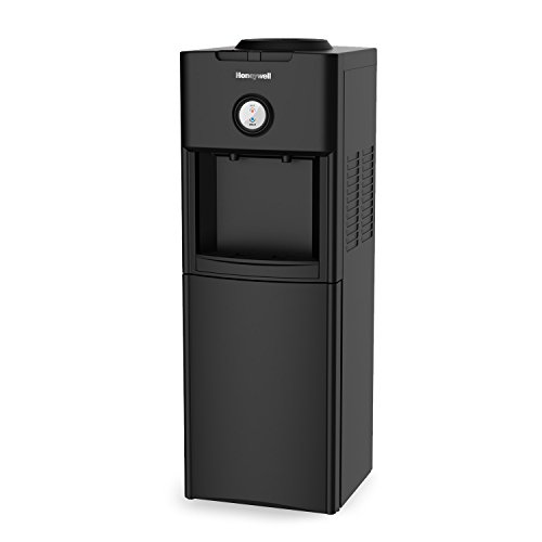 Best Deals! Honeywell HWB1062B NEW Freestanding Hot and Cold Water Dispenser with Stainless Steel Ta...