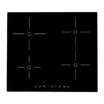 ikea folklig induktionskochfeld mit booster schwarz 58. Black Bedroom Furniture Sets. Home Design Ideas