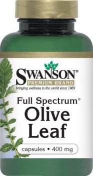 Swanson Full Spectrum Olive Leaf 400mg (60 Capsules) from Swanson Health Products