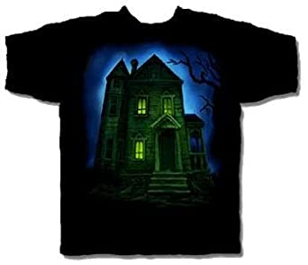 Haunted House Halloween T-Shirt Size Medium