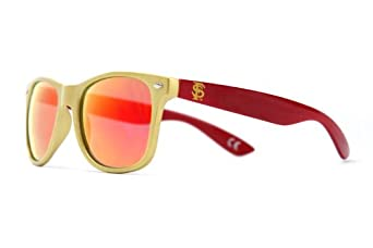 Society43 NCAA Sunglasses - Florida State Seminoles Gold Garnet Wayfarer Style by Society43