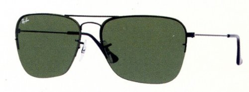 Ray-Ban Caravan Flip Out Schwarz