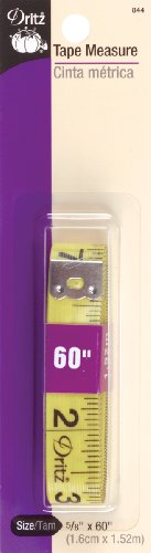 Great Deal! Dritz Tape Measure Sewing Product, 5/8 by 60-Inch