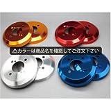 ジムニー JB23W アルミ ハブ/ドラムカバー リアB(センター穴無) カラー:鏡面ポリッシュ シルクロード DCS-004