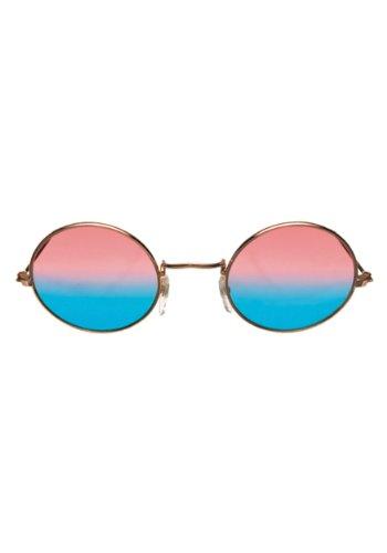 Elope John Lennon Glasses with Pink/Blue Lenses