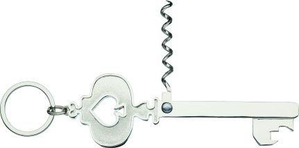 Kitchen Craft Lock in Key Shape Bottle Opener and Corkscrew