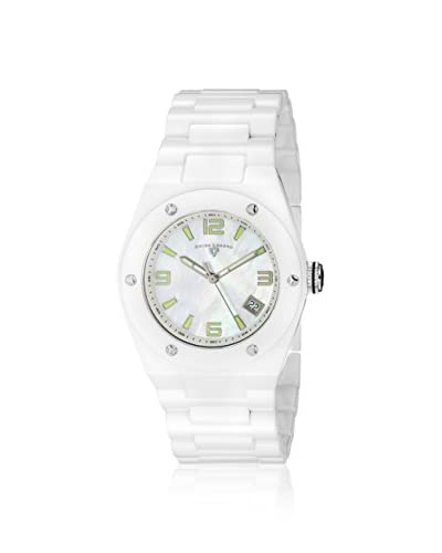 Swiss Legend Women's 10054-WWSA Throttle White Ceramic Watch