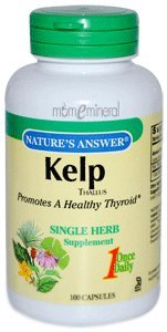 Kelp, Thallus, 100 Capsules by Nature's Answer