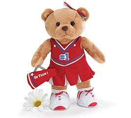Adorable Cheerleader Teddy Bear With Megaphone