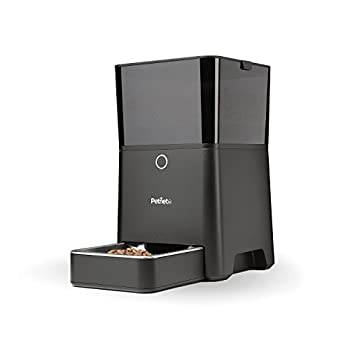 Petnet SmartFeeder Automatic Pet Feeding from Smartphone, Black