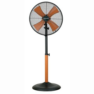 """Manual Tilting Rotary Table Bionaire Wood Effect Powerful 16"""" Stand Fan BASF40W: Amazon.co.uk ..."""