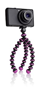 JOBY JB01252-0EN GorillaPod Original - Flexible Camera Tripod for Point and Shoot Cameras  - Fuchsia