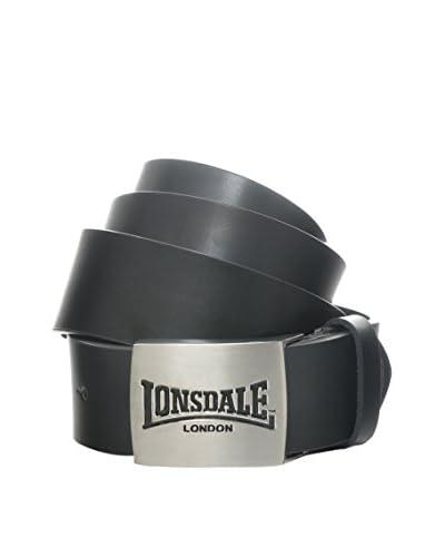 Lonsdale Cintura Pelle Embossed