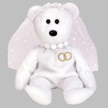 Mrs. Ty Beanie Babies Bear back-960851