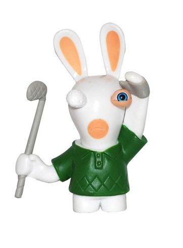 Rabbids in Sports - Golf Figure / Plus One Mystery Figure