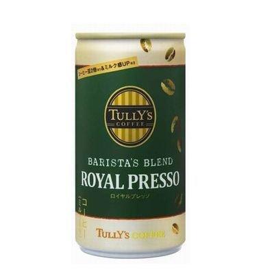 伊藤園 タリーズコーヒー バリスタズブレンド ロイヤルプレッソ 190g缶 1ケース(30本)