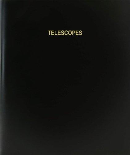 "Bookfactory® Telescopes Log Book / Journal / Logbook - 120 Page, 8.5""X11"", Black Hardbound (Xlog-120-7Cs-A-L-Black(Telescopes Log Book))"