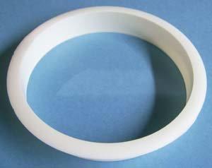 """6"""" Trash ring white plastic 3/pkg"""