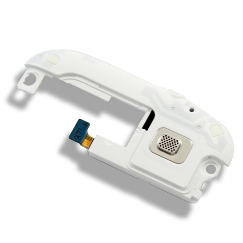 Original Genuine Oem White Audio Jack+Buzzer Ringer Loud Sound Speaker For Samsung Galaxy S3 I9300