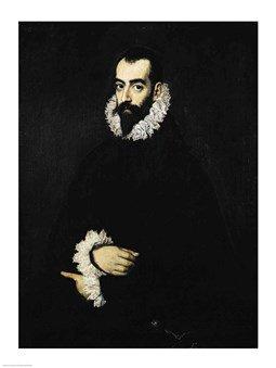 Portrait of Juan Alfonso de Pimentel y Herrera Art Poster PRINT El Greco 18x24