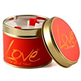 Lily Flame Scented Candle Tin - Love