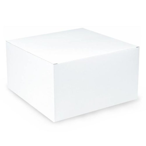 "Amscan White Gift Box (9"" x 9"")"