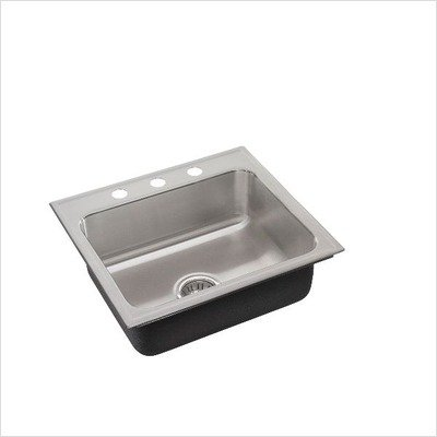 Just SL-ADA-1921-A-GR-3-5.5-DCR ADA Compliant Single Bowl 18-Gauge T-304 Stainless Steel Commercial Grade Drop In Sink