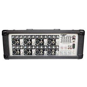Pyle-Pro Pmx801 200 Watt 8 Channel Powered Pa Mixer/Amplifier