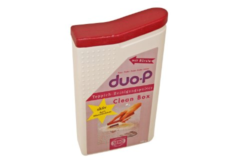 Sebo 0478 Clean Box Duo-P Powder and Brush, 500 g