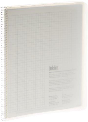 Berkshire bcr 1 4 quot grid spiral notebook 8 1 2 quot x 11 quot case of 10