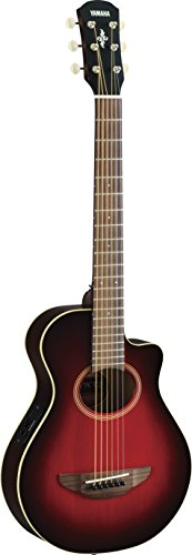 Yamaha APX 3/4-Size Acoustic-Electric Guitar, Dark Red Burst (Yamaha Acoustic Electric Guitar compare prices)