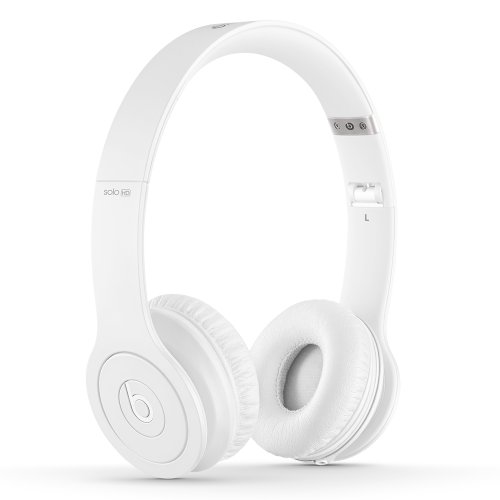 Beats Solo HD On-Ear Headphones (Drenched in White)