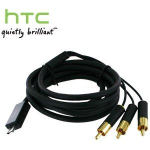 HTC AV Cable for HTC ADR6300, Vision (Micro USB to Composite)