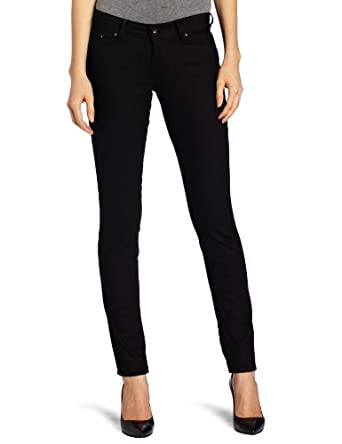 a9f0bae80e484e Levi's Women's Supreme Curve Skinny Jean, Pitch Black, 30x32