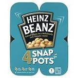 Heinz Beanz Snap Pots 4 X 200g
