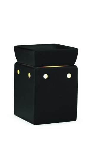 Candle Warmers Etc. Square Illumination Fragrance Warmer, Black