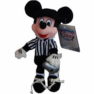 Mickey Referee - Disney Mini Bean Bag Plush