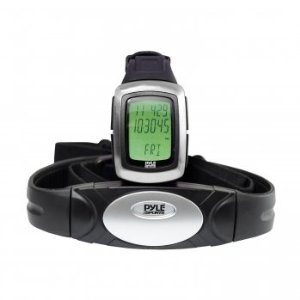 Cheap Pyle PHRM26 Speed and Distance Heart Rate Watch W/ USB and 3D walking/Running Sensor (PHRM26)