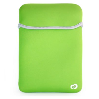 APPLE IPAD Tablet 16GB 32GB 64GB WiFi WiFi 3G Soft GREEN / BLUE NEOPRENE CARRYING BAG Sleeve CASE Cover Pouch