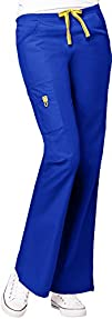 WonderWink Womens Scrubs Romeo 6 Pocket Flare Leg Pant