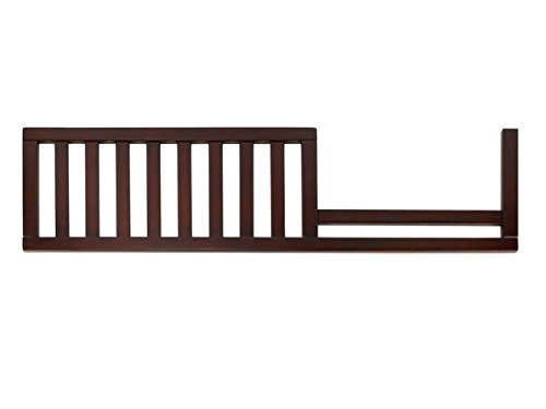 Imagio Baby Summit Park Toddler Rail for Convertible Crib, Chocolate Mist - 1