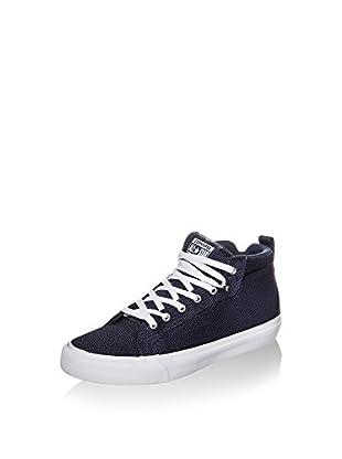 Converse Zapatillas All Star Fulton Mid Sneaker (Azul / Blanco)