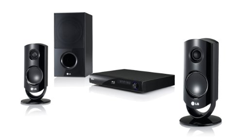 LG HB44S 2.1 Blu-Ray  &  DVD Home Cinema System with USB Direct Recording  &  1080p Upscaling