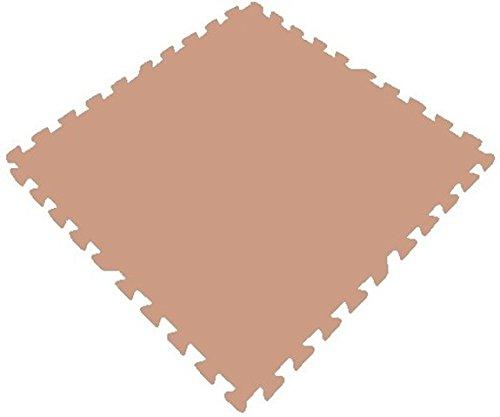 Get rung mats tan sq ft pack foam interlocking mats anti