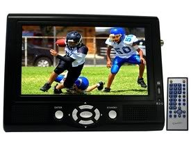 Supersonic SC-193A 7 Portable TFT LCD TV Monitor with NTSC & ATSC Tuner
