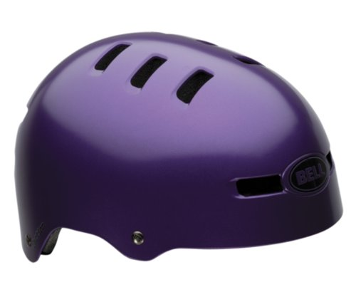 Bell Faction Multi-Sport Purple Solid Helmet (Medium)