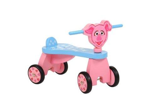 Sesamstraße Schweinchen Purk Kinder Rutscher Fahrzeug