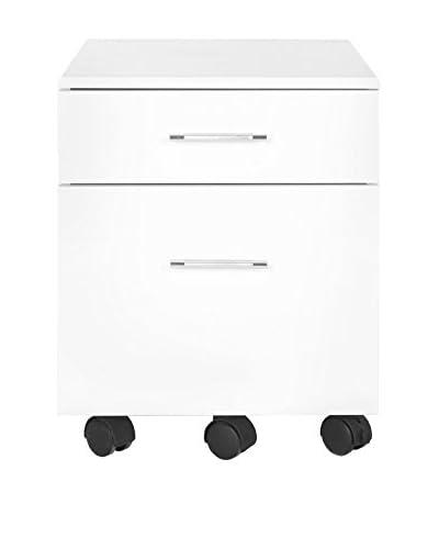 Safavieh Piedmont File Cabinet, White