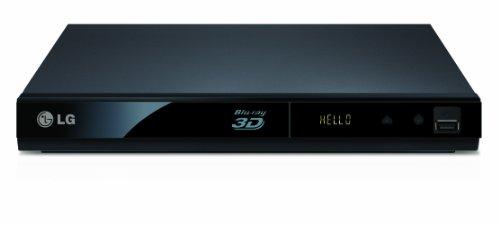 LG 3D Slim Smart BP325 Blu-ray Player - Black